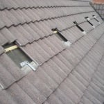 Solar Panels being fitted to a roof in Papworth Everard, Cambridgeshire