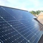 Solar Panels on roof in Papworth Everard