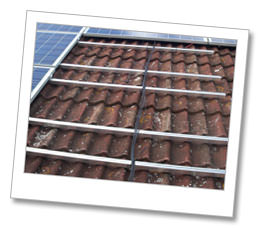 Solar Panels on a roof in Cambridgeshire