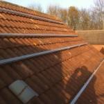 Solar PV Huntingdon - during installation