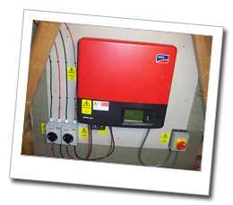 Solar PV Bedford Installation - inverter