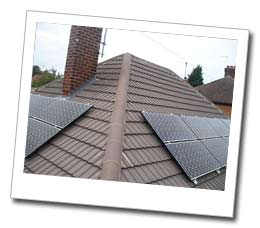 Solar PV installation in Peterborough