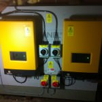 Twin inverters for Solar Photovoltaic installation in Peterborough