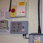 Solar PV in Whittlesford - switch panel