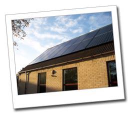 Solar PV installation in Whittlesford
